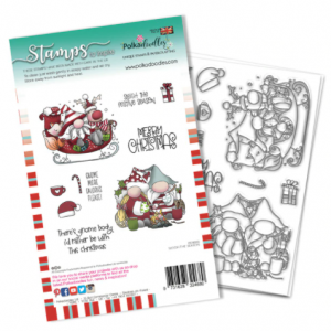 Polkadoodles, Sleigh The Season stamp set, Australia