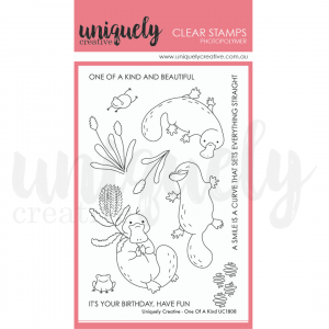 Uniquely Creative, One of a Kind stamp set, Australia