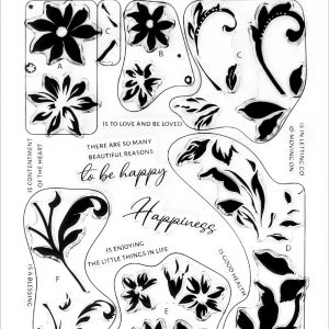 Altenew, Blissful Blossoms stamp set, Australia