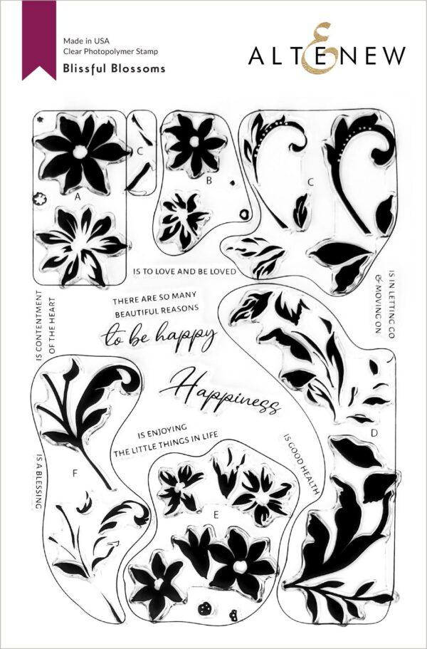 Altenew, Blissful Blossoms stamp set, Australia