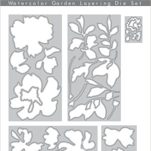 Altenew, Watercolor Garden Layering die set, Australia