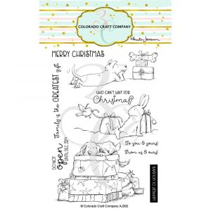 Colorado Craft Co, Christmas Presents stamp set, Australia