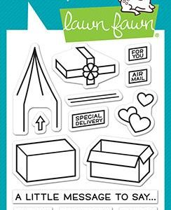 Lawn Fawn, Special Delivery Box add on stamp set, Australia