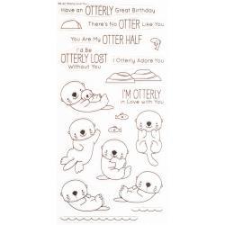 MFT, Otterly Love You stamp set, Australia
