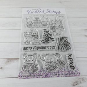 Kindred Stamps, Cupid's Crew stamp set, Australia