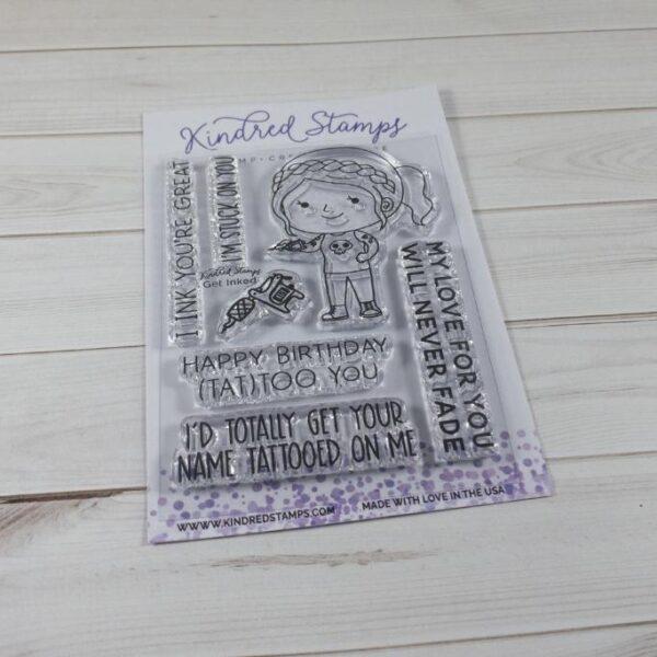Kindred Stamps, Get Inked stamp set, Australia