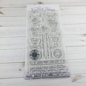 Kindred Stamps, Path Finder stamp set, Australia