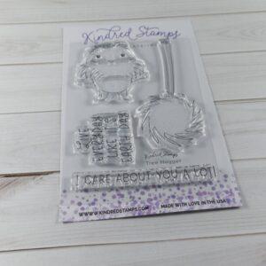 Kindred Stamps, Tree Hugger stamp set, Australia