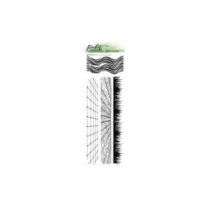 Picket Fence Studios, Slim Grass & Waves WTiles & Wood Floors stamp set, Australia