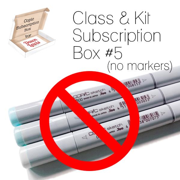 Subscription Box 5 Class & Kit