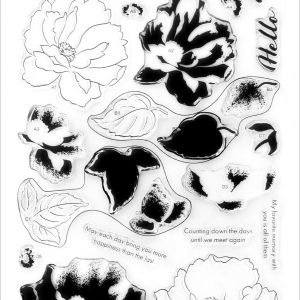 Altenew, Airbrushed Flowers stamp set, Australia