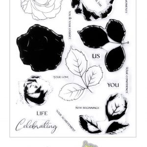 Altenew, Build-A-Flower Bellaroma Hybrid Tea Rose stamp & die bundle, Australia