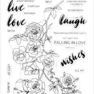 Altenew, Enchanted Roses stamp set, Australia