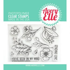 Avery Elle, Sending Flowers stamp set, Australia