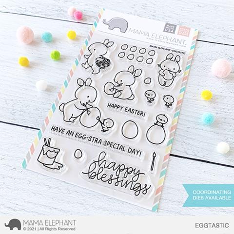 Mama Elephant, Eggtastic stamp set, Australia