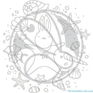 The Rabbit Hole Designs, Starfish in the Sand stamp set, Australia