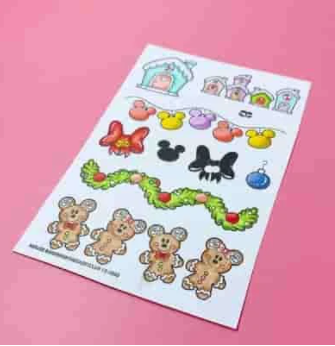 Mouse Borders stamp set