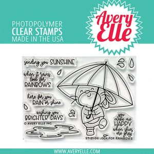 Avery Elle, Look for Rainbows stamp set, Australia