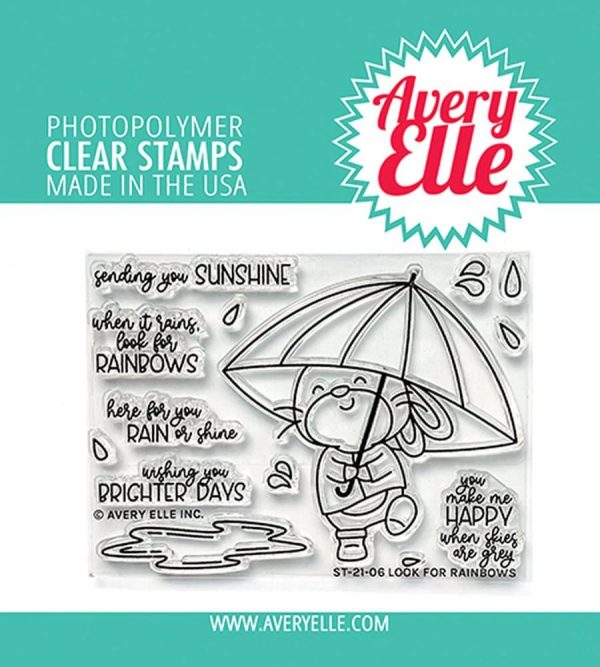 Avery Elle, Look for Rainbows stamp set, Australia