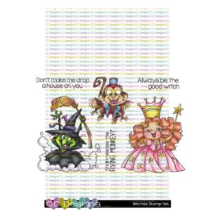 CC Designs, Witches stamp set, Australia
