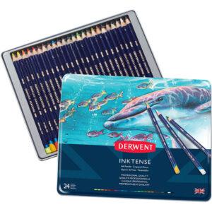 Derwent Inktense pencils tin 24, Australia