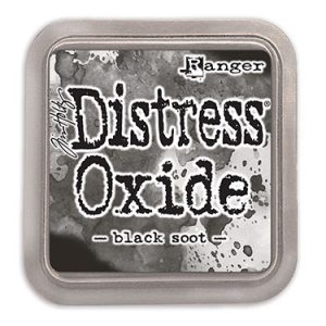Tim Holtz, Distress Oxide Black Soot ink pad, Australia