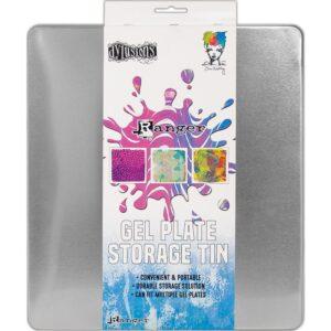 Ranger Gel Plate storage tin, Australia