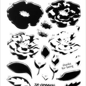Altenew, Marbled Bloom stamp set, Australia