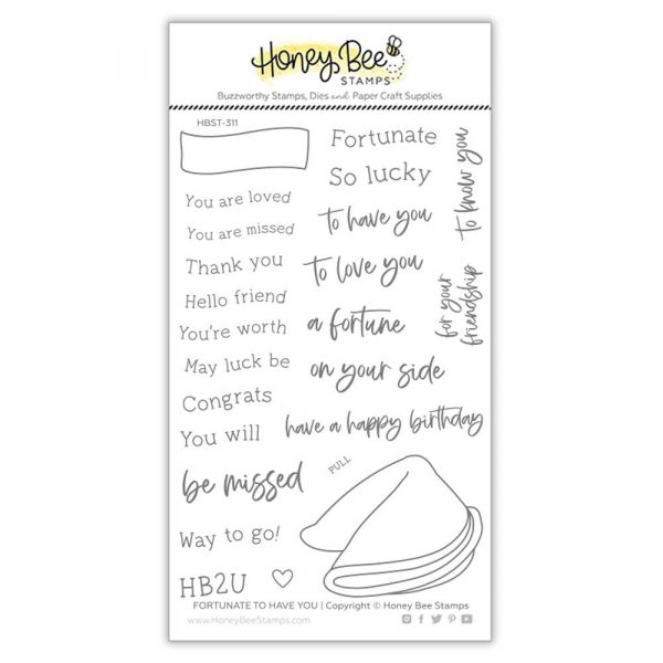 Honey Bee, Fortunate To Have You stamp set, Australia