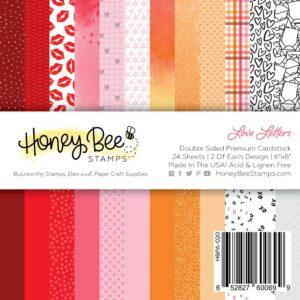 Honey Bee, Love Letters 6x6 paper pad, Australia