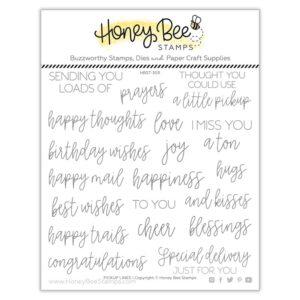 Honey Bee, Pickup Lines stamp set, Australia