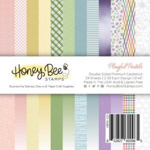 Honey Bee, Playful Pastels 6x6 paper pad, Australia