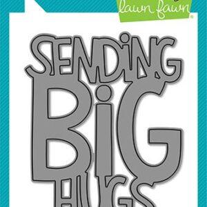 Lawn Fawn, Giant Sending Big Hugs die set, Australia