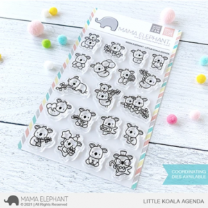 Mama Elephant, Little Koala Agenda stamp set, Australia