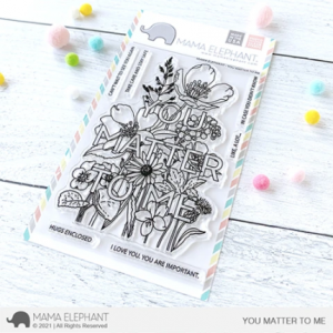 Mama Elephant, You Matter To Me stamp set, Australia
