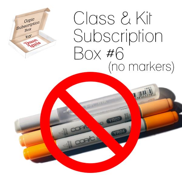 Subscription Box 6 Class & Kit