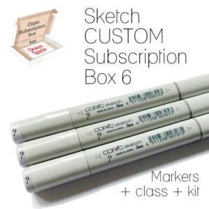 Subscription Box 6 Sketch Custom