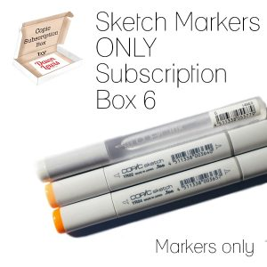 Subscription Box 6 Sketch Markers only