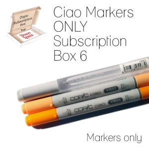 Subscription Box Ciao 6 Markers only