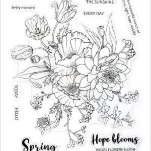 Altenew, Simply Spring stamp set, Australia