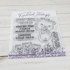 Kindred Stamps, Bear Hugs stamp set, Australia