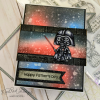 Kindred Stamps, Galactic Fighters stamp set, Australia