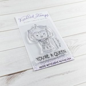 Kindred Stamps, You're A Queen stamp set, Australia