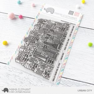 Mama Elephant, Urban City stamp set, Australia