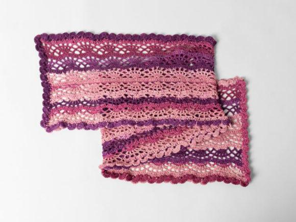 Scroll Lace Scarf crochet pattern