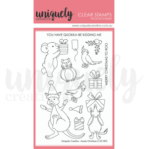 Uniquely Creative, Aussie Christmas 2 stamp set, Australia