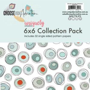 Uniquely Creative, Choose Your Own Adventure 6x6 paper pack, Australia