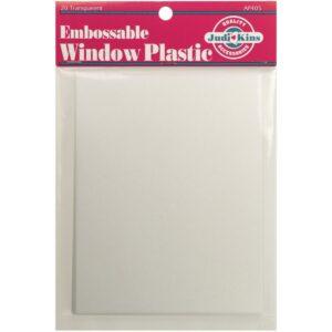 Judikins Embossable Window Plastic 20pk, Australia